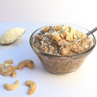 Nutty Overnight Oats, Menu Sarapan Sehat